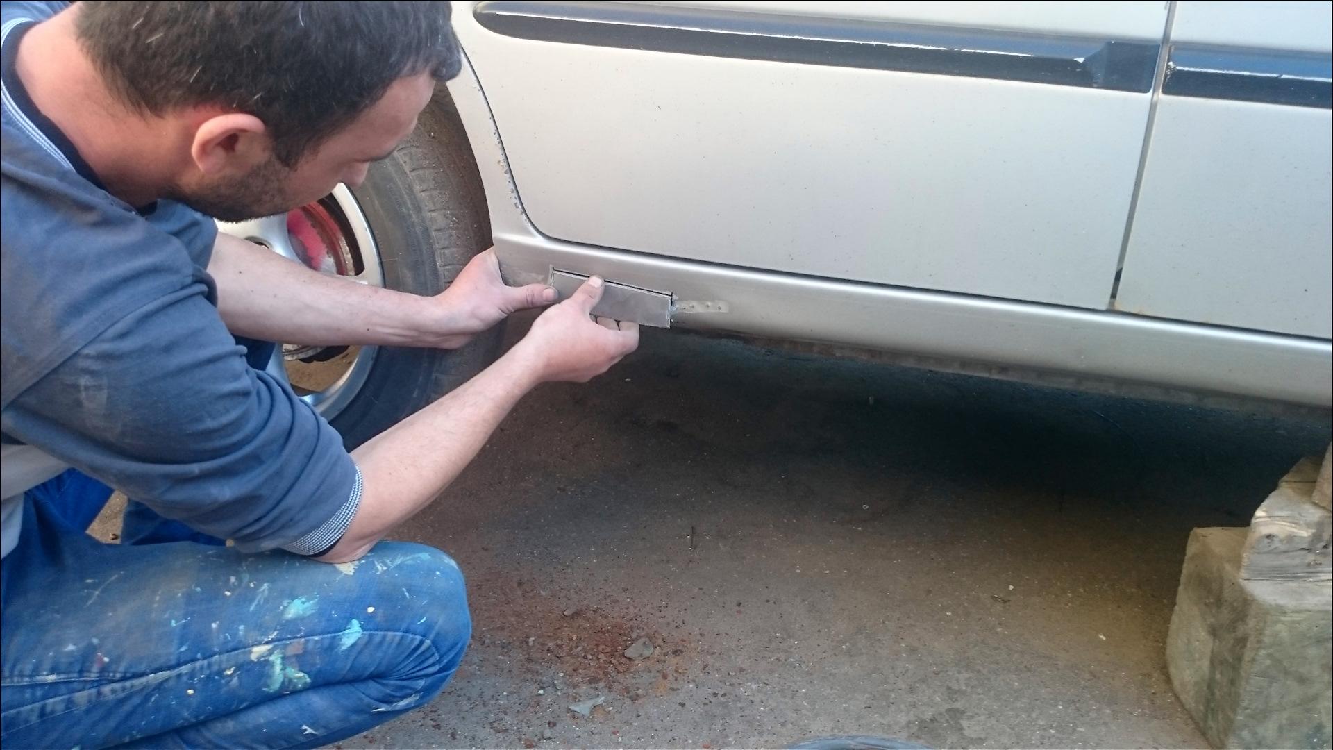 ремонт порогов авто