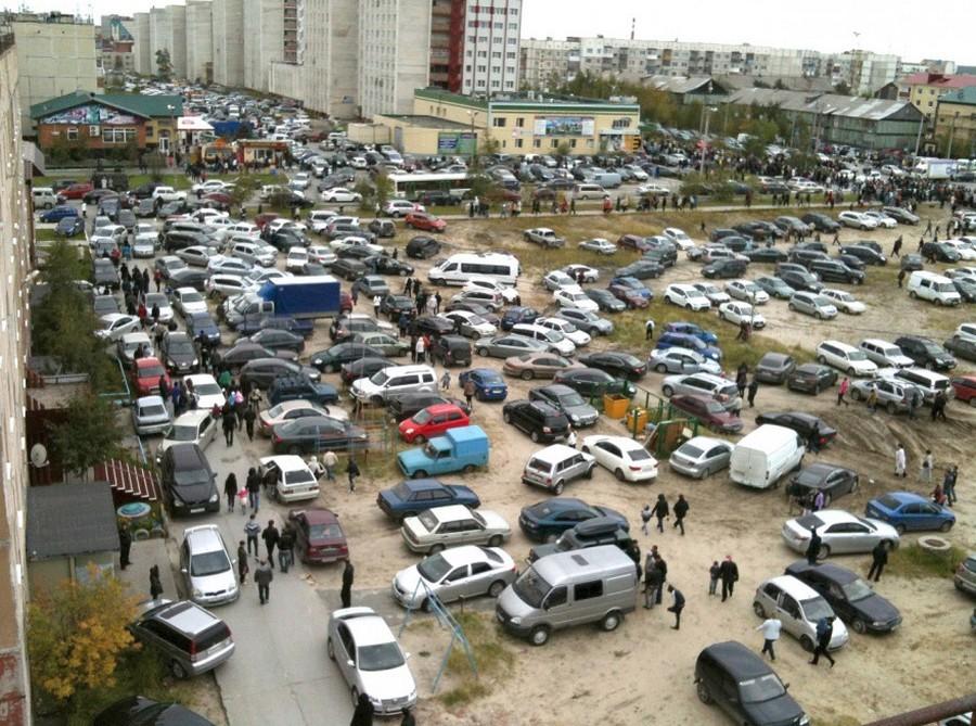 Решение проблем с парковками