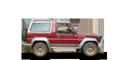 Daihatsu Rocky компактный внедорожник 1989-1998