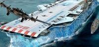 Во время войны Британия пыталась создать авианосец из льда