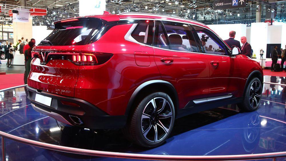 Продажа авто из вьетнама VinFast Lux SA2.0