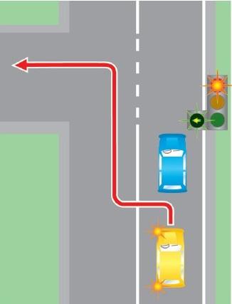 Выезд в нарушение требований, предписанных разметкой проезжей части дороги, на полосу, предназначенную для встречного движения.