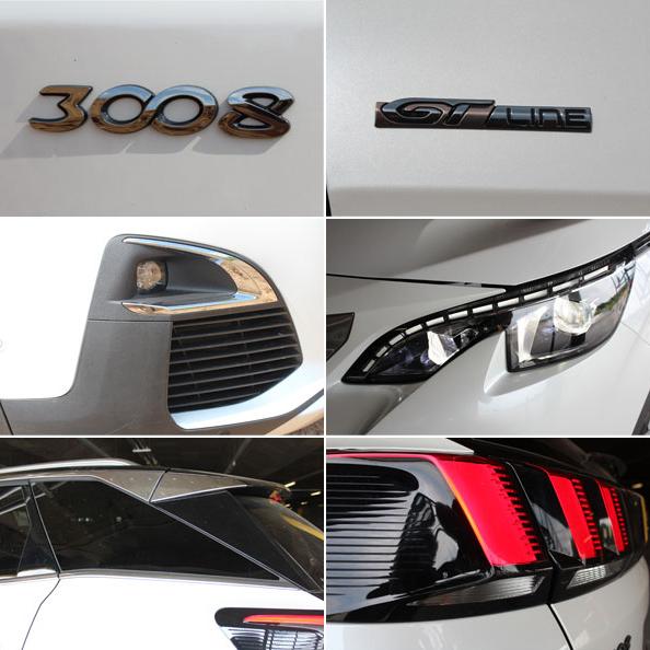 Peugeot 3008 и Peugeot 5008 коллаж фото