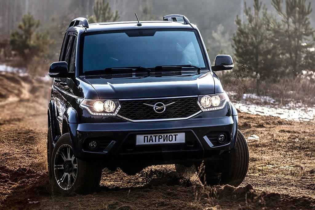 УАЗ представил улучшенный вседорожный автомобиль УАЗ «Патриот»
