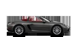 Porsche 718 Boxster родстер 2016-2021 новый кузов комплектации и цены