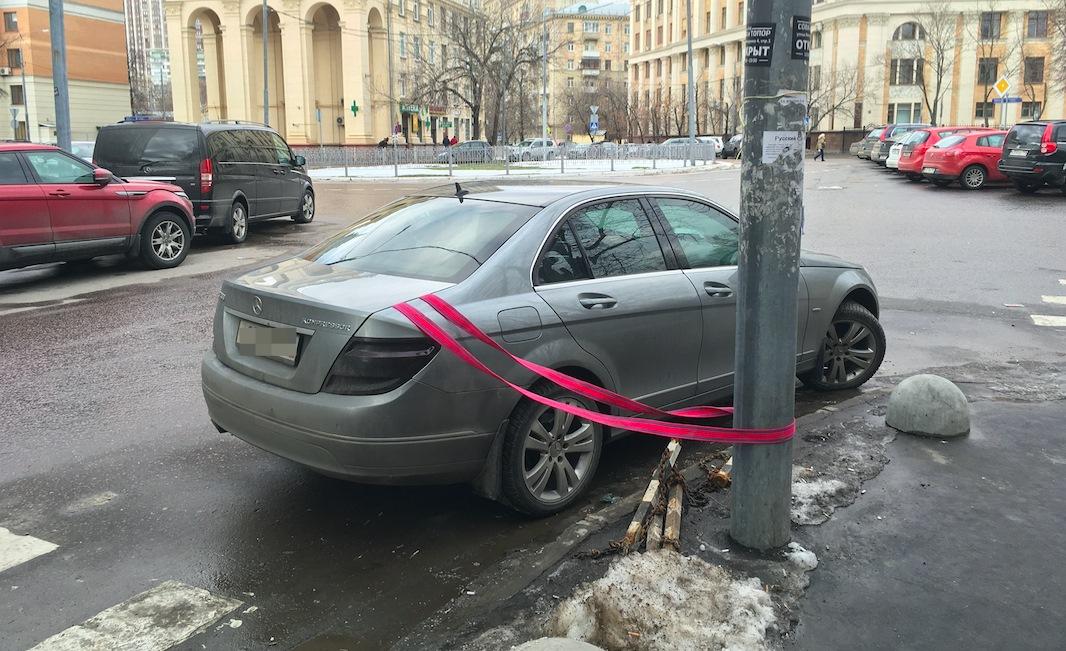 Авто привязан фото